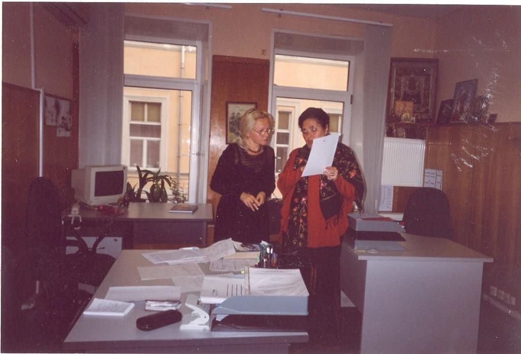 Директор Бюро пропаганды художественной литературы Алла Панкова и литературный консультант Бюро Лилия Середина